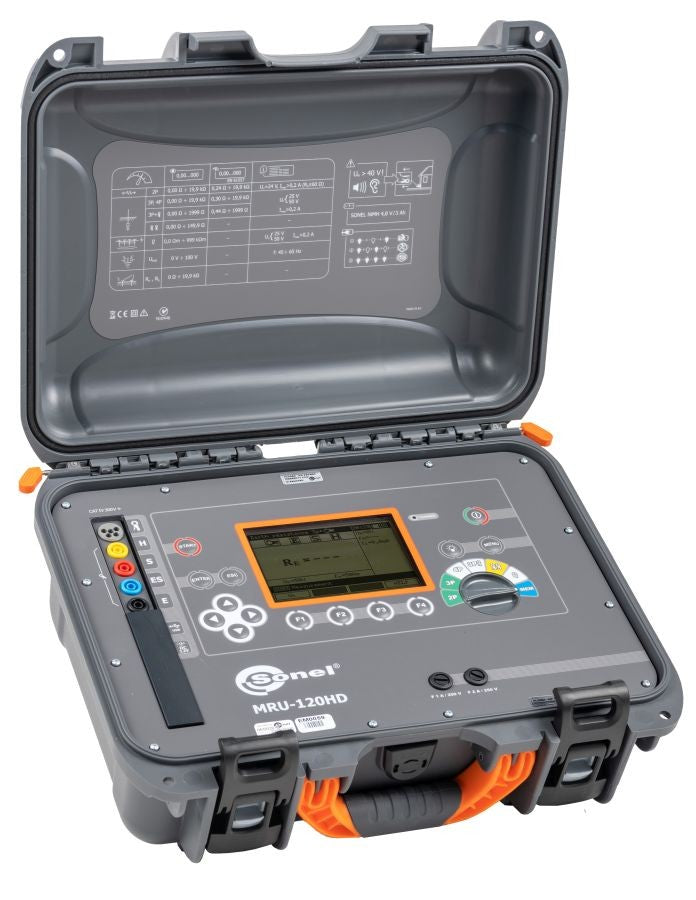 Sonel MRU-120HD Earth Resistance Meter