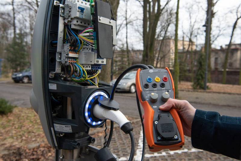 Sonel EVSE-01 Adapter Testing Vehicle Charging Stations