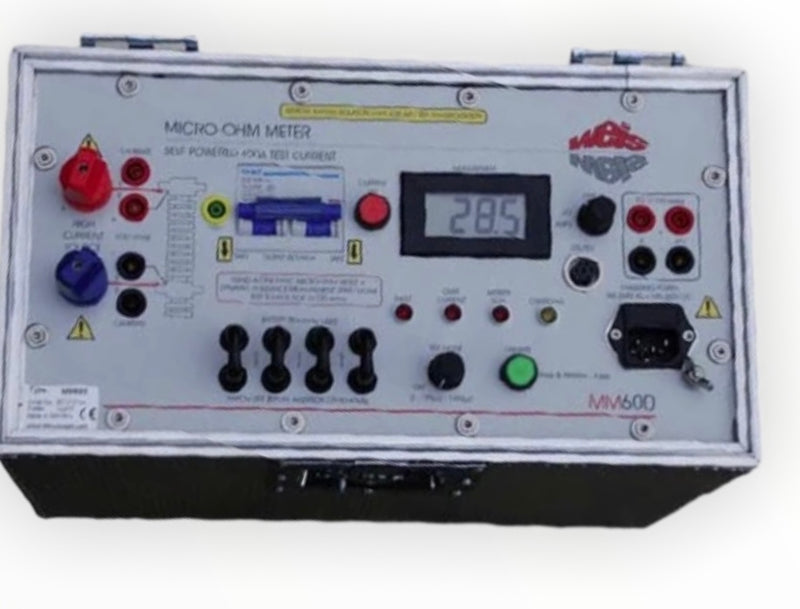 Weis GMBH MM600 Micro-Ohm Tester