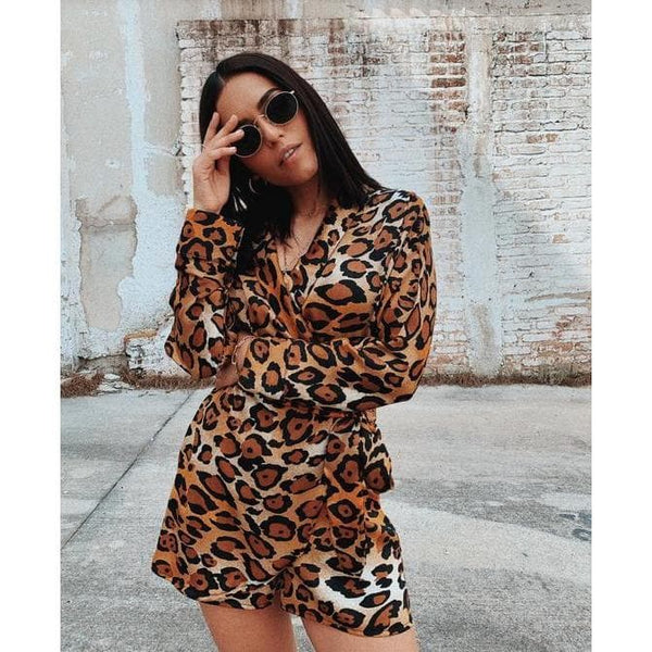 Aroma Couture CH / Gold Cheetah print, romper