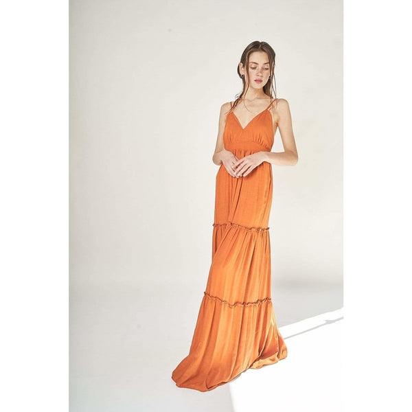 Aroma Couture Dress Strappy, beach maxi dress.