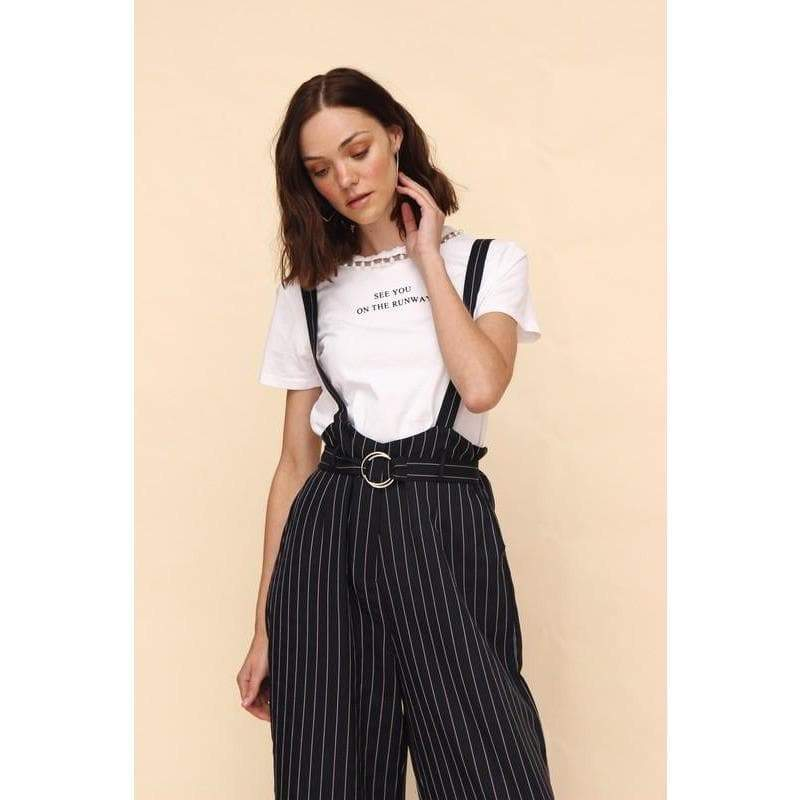 Aroma Couture Overall stripes