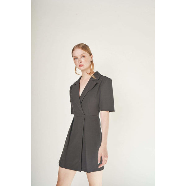 Aroma Couture Romper Puffed sleeve, romper.