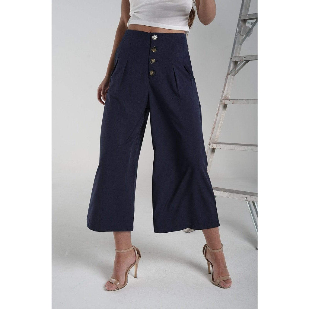 H Apparel Formal culotte with buttons