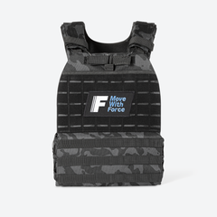 Camo Weighted Vest - Force Fitness