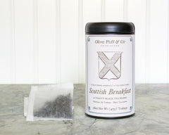 Scottish Breakfast Teabags in Signature Tin | Oliver Pluff & Co.