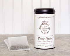 Young Hyson Tea - 20 Teabags in a Signature Tin