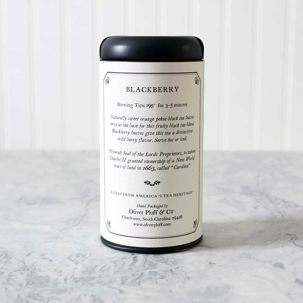 Blackberry - Teabags in Signature Tea Tin