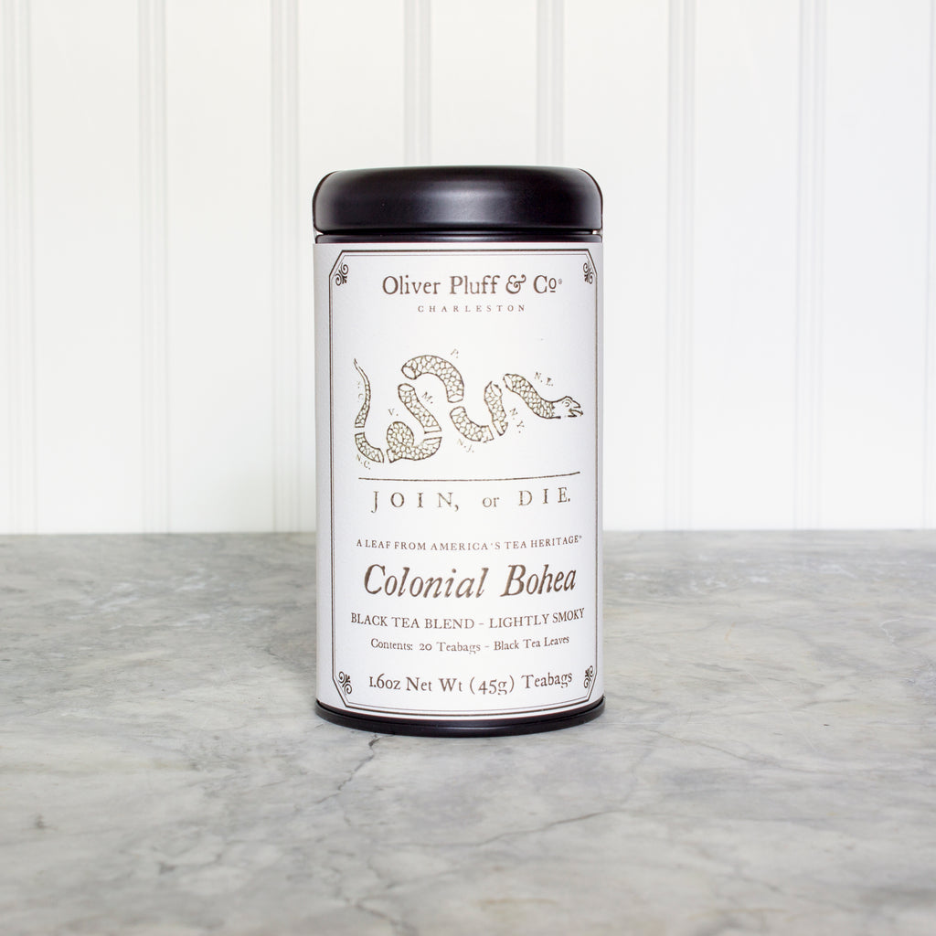 Colonial Bohea Teabags in Signature Tin