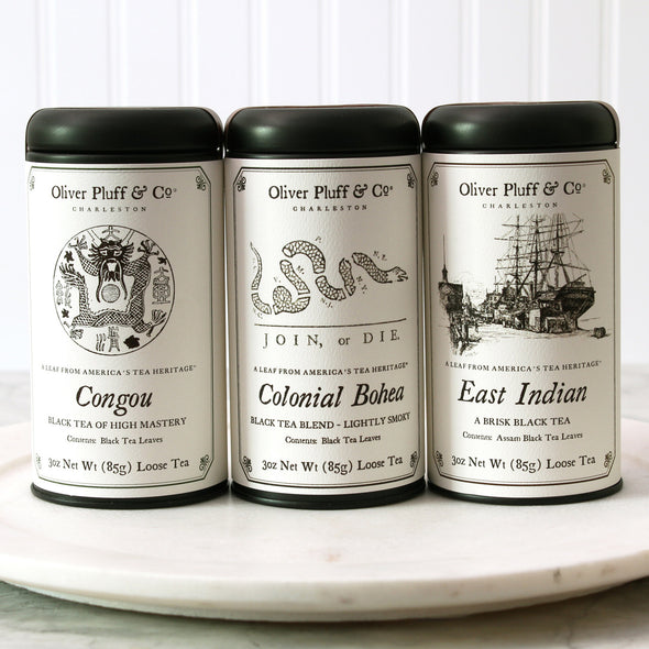 Colonial Black Tea Trio