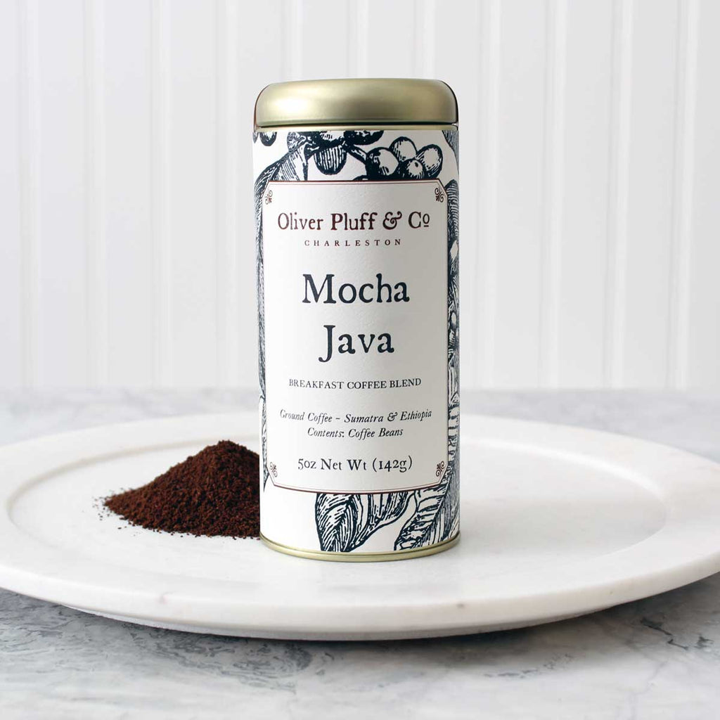 Mocha Java Ground Coffee- Signature Coffee Tin