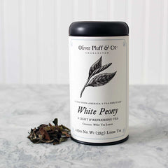 White Peony - Loose Tea in Signature Tea Tin