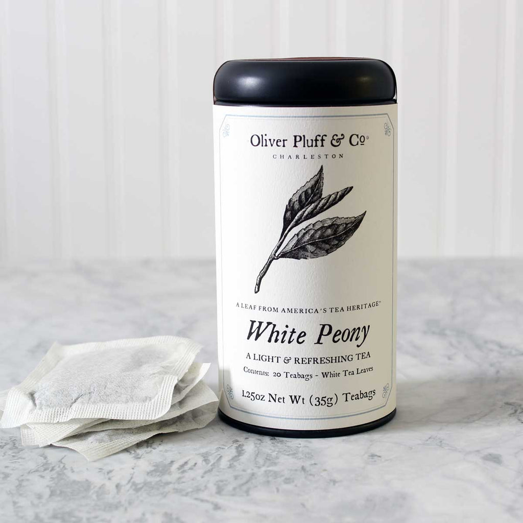 White Peony - Teabags in Signature Tea Tin