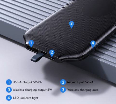 Best Magnetic Power Bank Wireless Phone Charger