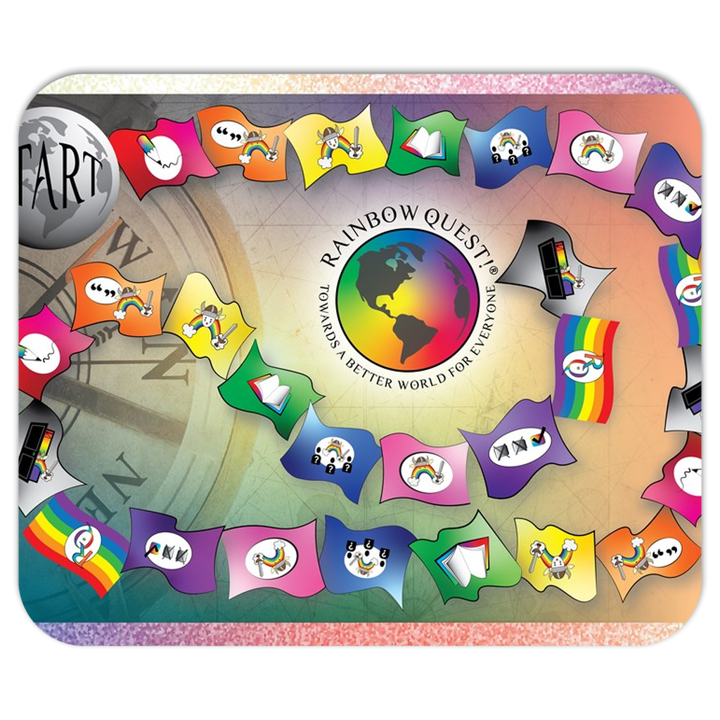 Rainbow Quest! Board Mousepad