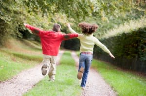 Children need unstructured play outside in order to grow and get physical activity