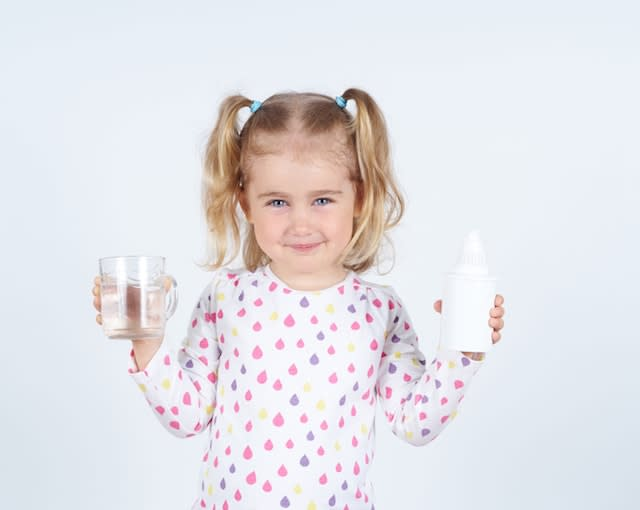 girl activated carbon water filter
