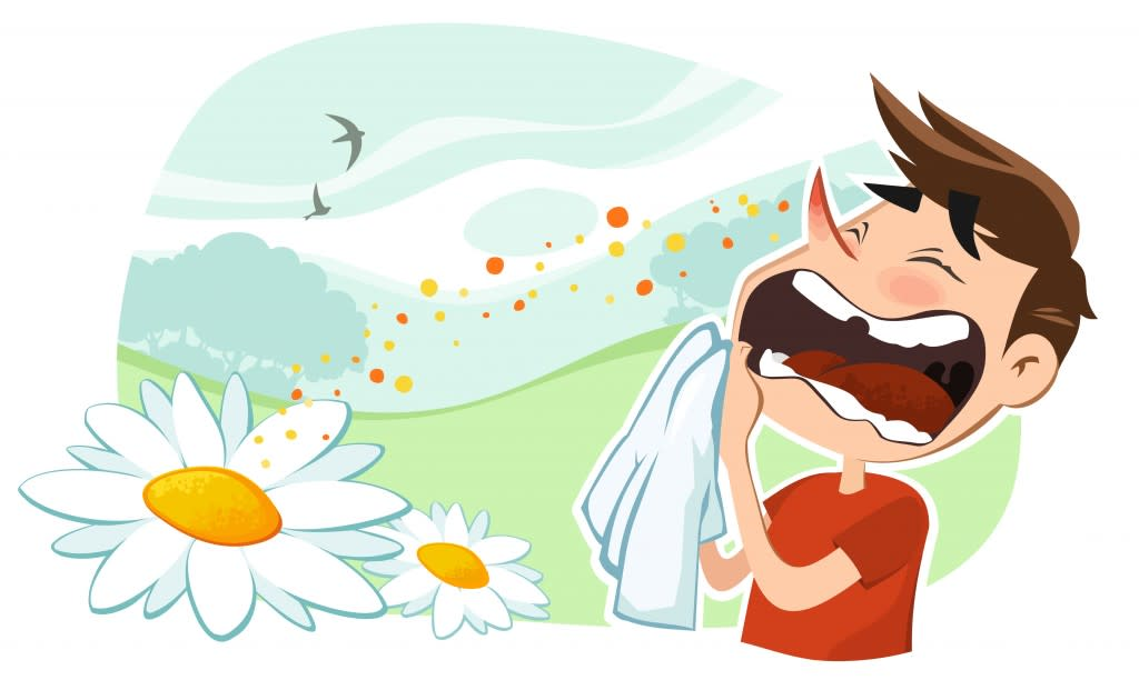 Spring Allergy symptoms and relief
