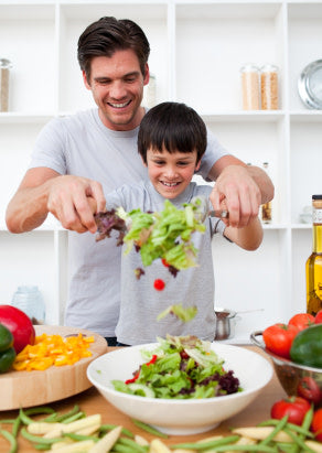 Cooking at home can help your children gain skills for life