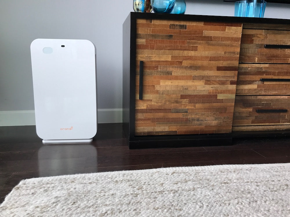 Oransi air purifiers to remove odors