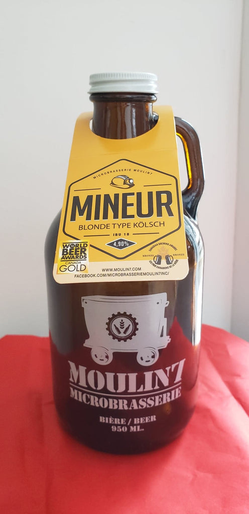 Mineur Blonde type Kölsch 4.9% 950ml