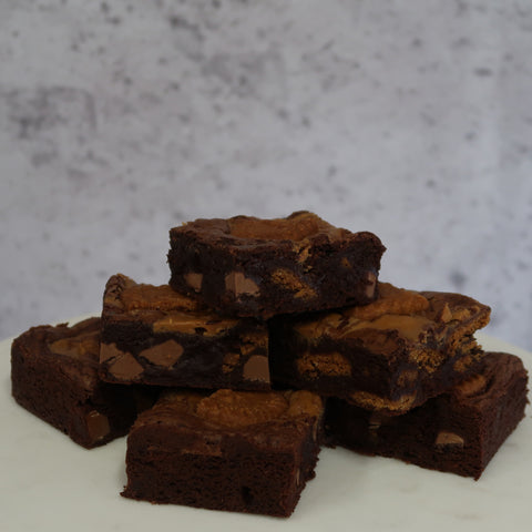 Biscoff Brownie