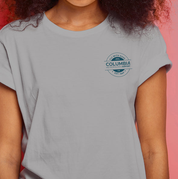 Grey Circle Logo T-shirt