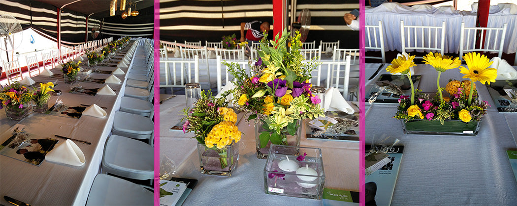 For yara Flowers - Corporate Events