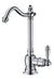 Point of Use Cold Water Drinking Faucet with Traditional Swivel Spout