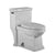 Magic Flush Eco-Friendly One Piece Single Flush Toilet with Elongated Bowl and 1.28 GPF capacity