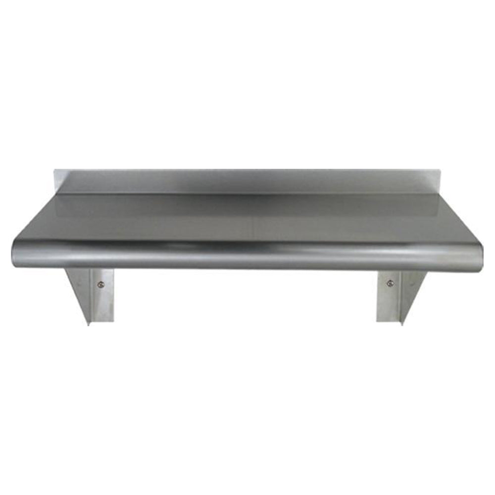Culinary Equipment Pre-assembled Stainless Steel Shelf with Bull Nose Edge