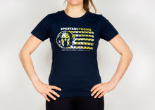 Load image into Gallery viewer, SPARTAN US Flag T-Shirt