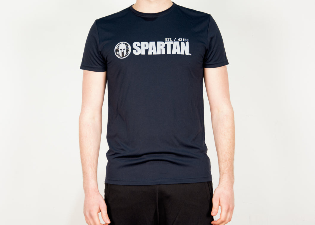 SPARTAN Technical T-Shirt blue