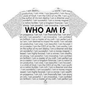 Who Am I? Soft Specialty T-shirt (White)
