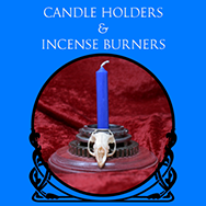Candle Holders & Incense Burners