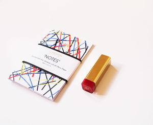 Abstract Small Notebook