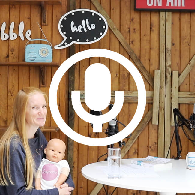 baby massage, how to and when to | Baby Dribble the Podcast episode 17