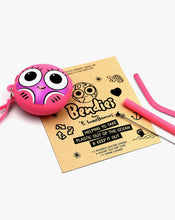 Load image into Gallery viewer, tilly fish | bendies kids silicone reusable straws | pink