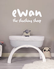 Load and play video in Gallery viewer, ewan the shushing sheep | Baby Sleep Soother | gray