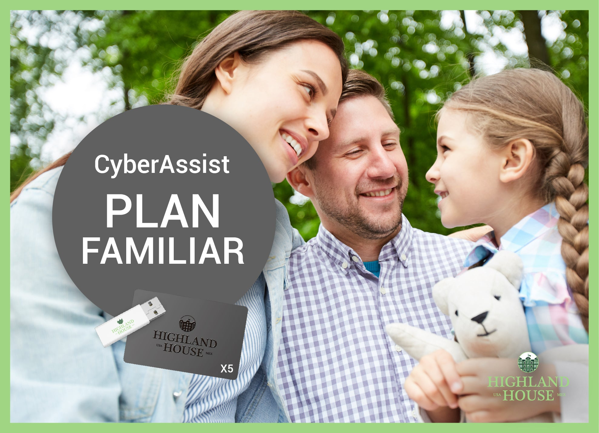 CyberAssist Annual Family Plan