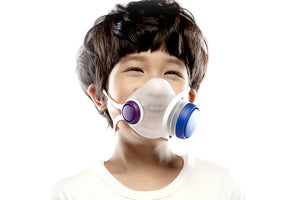 Kids face mask for added protection from COVID and airborne particles