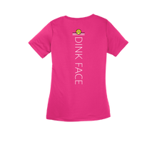 Load image into Gallery viewer, Lady Dink V-Neck Pink Raspberry