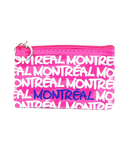 Fuchsia Montreal Rectangle Coin Purse