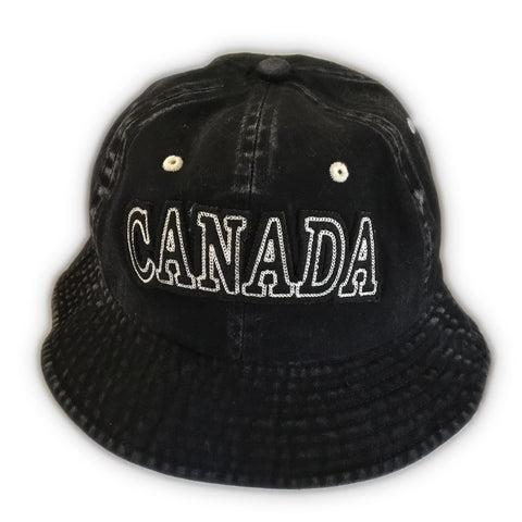 Black Canada Bucket Hat
