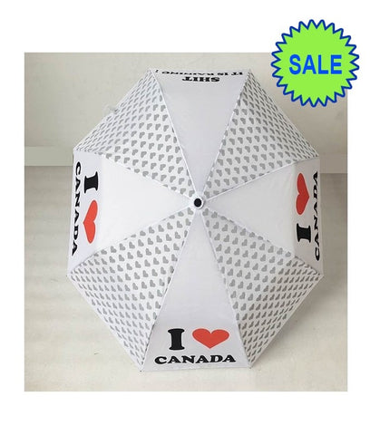 I Love Canada Umbrella