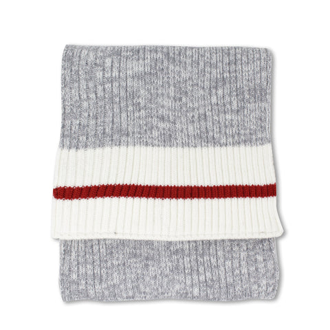 Grey Mix/Off White Canada Original Scarf