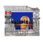 Vancouver Photo Frame Magnet