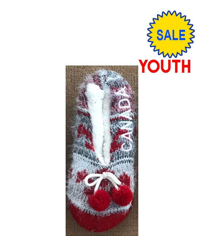 Youth Canada Furry Slipperss