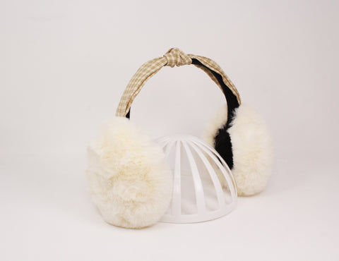 Ear Muff Checkered Pre-Packed