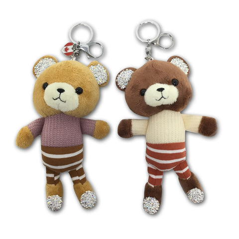Duo Baby Bear Clip Keychain Prepacked